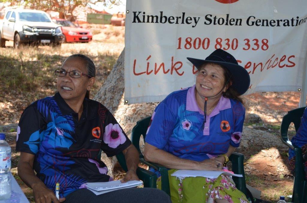 Broome Mental Health Week Link up Case workers Maureen Pigram and Paula Ellis