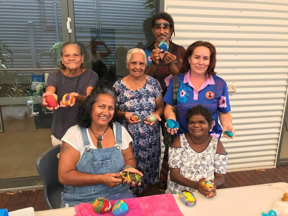 Healing Art Group during Mental Health Week 2018